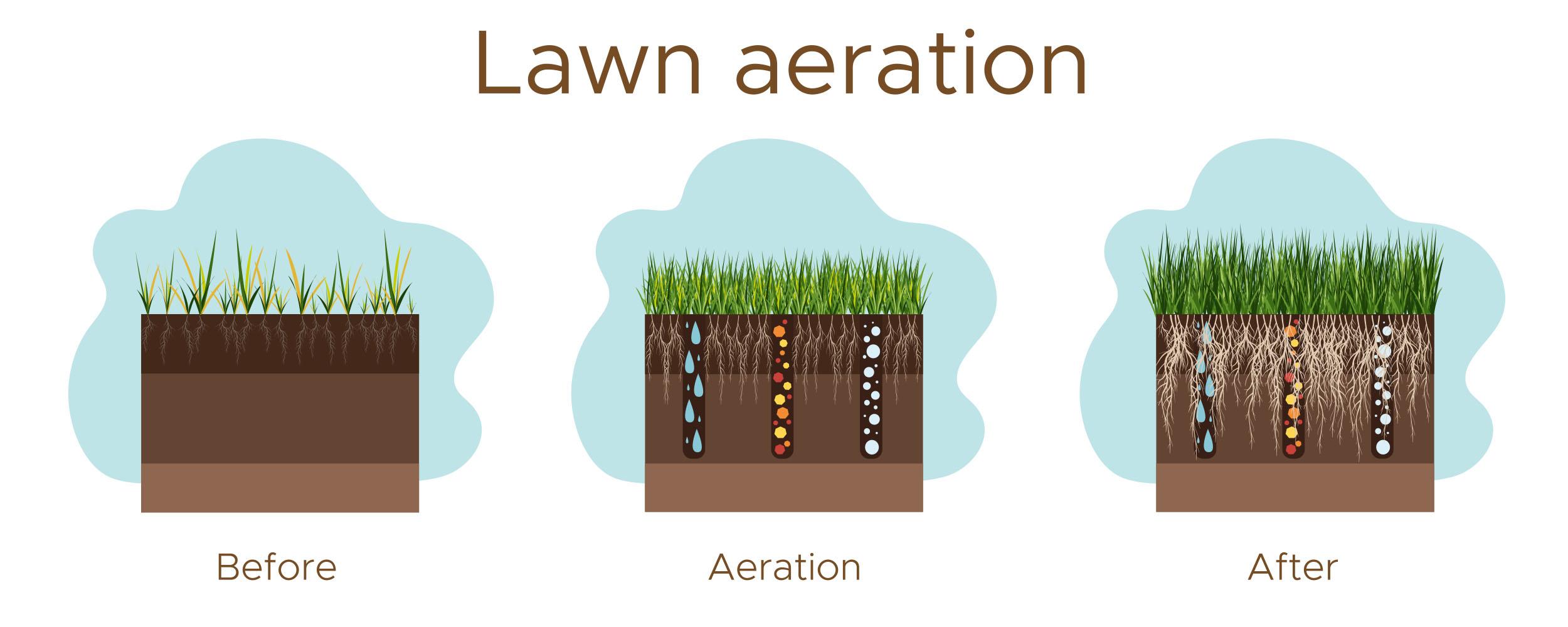 tulsa oklahoma lawn aeration service grass care lawn care aeration services tulsa broken arrow bixby jenks ok oklahoma