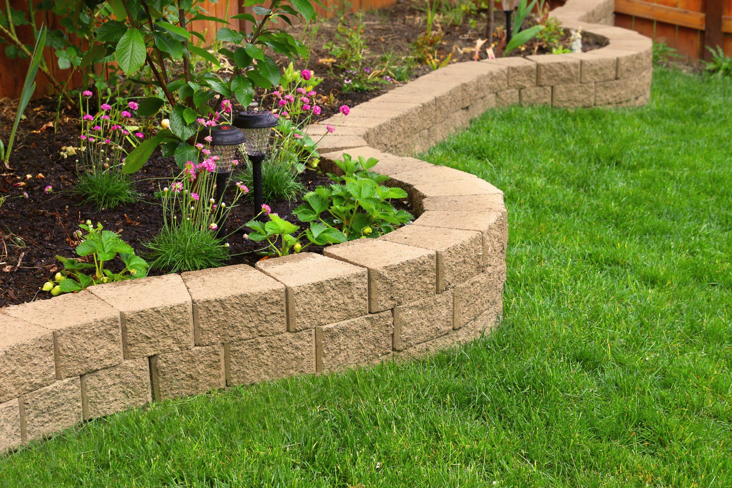 residential landscaping company tulsa oklahoma best landscapers retaining wall retaining wall builder garden wall